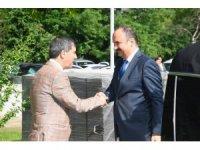 Edirne'de vali Canalp, kolluk güçleri ile bayramlaştı
