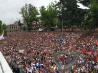 İmamoğlu Trabzon'da binlere hitap ediyor: Yeniden seçileceğimi biliyorum