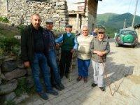 Posof Savaşır köyünde heyelan