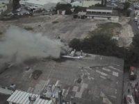 Kartal'da korkutan fabrika yangını