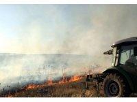 Midyat'ta itfaiye ekipleri 'sıfır yangın' için seferber oldu