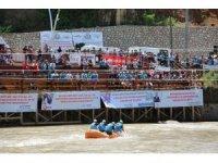 Tunceli'de Dünya Rafting Şampiyonası heyecanı devam ediyor