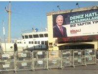 YSK'dan AKP'nin Kadıköy'deki pankartına ilişkin karar