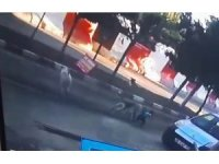 Mardin'de dehşete düşüren görüntü