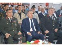 Ağrı'da 30 Kıbrıs Gazisine madalyaları verildi