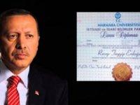 Erdoğan'ın diplomasını özel kaleminin şoförü onaylatmış