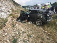 Bilecik'te kaza: 1 ölü, 2 yaralı
