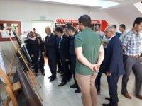 Yerköy Halk Eğitim Merkezi yıl sonu sergisi açtı