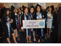 KAÜ Fen-Edebiyat Fakültesi'nde mezuniyet coşkusu