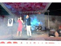 Isparta Gül Fuarı'nda konser coşkusu