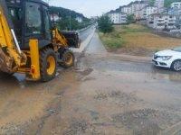 SASKİ'den yoğun yağışa anında müdahale
