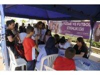 Nazilli'de yaz spor okullarına yoğun ilgi