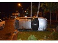 Malatya'da ehliyetsiz sürücü kaza yaptı: 1 yaralı