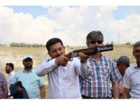 Nevşehir Belediye Başkanı Rasim Arı, Acıgöl'de Trap atışları festivaline katıldı