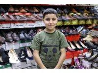 13 yaşındaki Suriyeli Halit'in yürek burkan hikayesi
