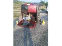 Hakimiyeti kaybolan araç takla attı: 1 ölü, 5 yaralı