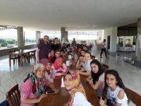 Balyalı öğrenciler yemekte buluştu
