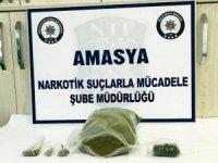 Amasya'da uyuşturucu operasyonu: 3 gözaltı