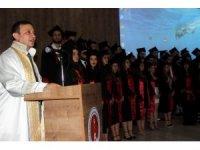 ERÜ Veteriner Fakültesi 20. dönem mezunlarını verdi