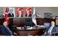 Vali'den Başkan Yanmaz'a hayırlı olsun ziyareti