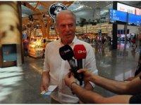 Mustafa Denizli İran'a gitti