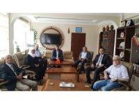 Gaziler ve şehit ailelerinden Kaymakam Güven'e ziyaret