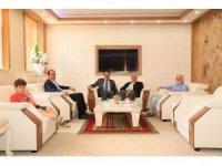 Cumhuriyet Başsavcısı Tiryaki'den Rektör Coşkun'a veda ziyareti