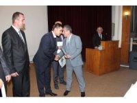 Yeni maden nezaretçileri sertifikalarını törenle aldı