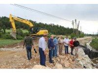 Emet'in köylerinde alt yapı çalışmaları