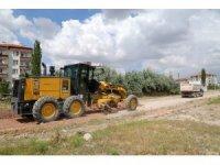 Aksaray Belediyesi yeni yollar açıyor