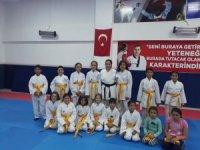 Şuhut'ta karate kuşak sınavı yapıldı