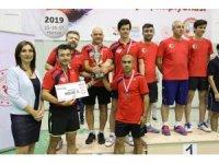 Masa Tenisi Türkiye Şampiyonası Marmaris'te yapıldı