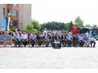Erzincan'da toplu taşımaya 10 yeni araç eklendi