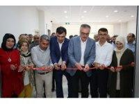 Hacılar'da el sanatları sergisi