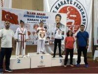Menteşeli Karateciler Denizli'den 5 altın madalya ile döndü