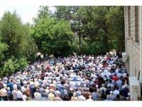 Karabük'te Mursi için gıyabi cenaze namazı kılındı