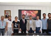 Sağlık-Sen İzmir 1 No'lu Şubesinden Buca kaymakamına ziyaret