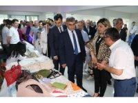 Halk Eğitimi Merkezi Öğrenme Şenliği ve Yıl Sonu Sergisi açıldı