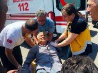 Kilis'te trafik kazası: 1 yaralı