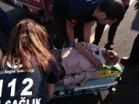Siverek'te trafik kaza: 1 yaralı