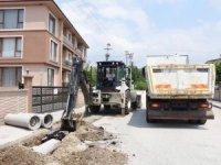 Düzce Belediyesi alt yapı çalışmaları Koçyazı'da başladı