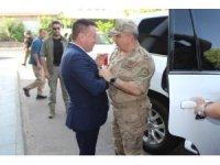 Jandarma Bölge Komutanı Koç'tan Başkan Beyoğlu'na ziyaret