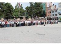 Mursi için Tosya'da Gıyabi Cenaze Namazı kılındı