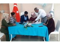 Erciş Belediye Başkanı Çetin, ilk kez nikah kıydı