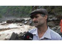 Selde zarar gören Çamlıktepe mahallesi sakininden korkutan iddia