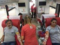Çaycuma OSB kan bağışında bulundu