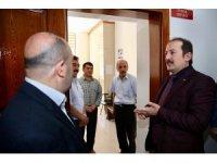 Vali Pehlivan, Açık Kapı Bürosunda denetlemelerde bulundu