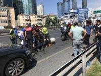 E-5 Karayolu'nda can pazarı: 2 polis yaralı