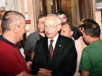 Kılıçdaroğlu'ndan İbrahim Layık'ın ailesine taziye ziyareti