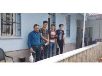 4 düzensiz göçmen yakalandı